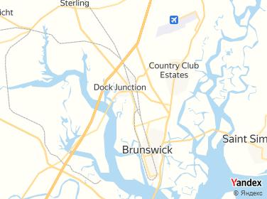Map Of Georgia Highway 341.Highway 341 Citgo Diesel Georgia Brunswick 4192 Norwich Street