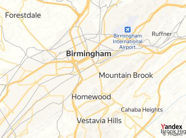 Direction for - 23Rd Street Vıp Center Birmingham,Alabama,US