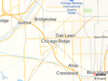 Chicago Ridge Mall Map on