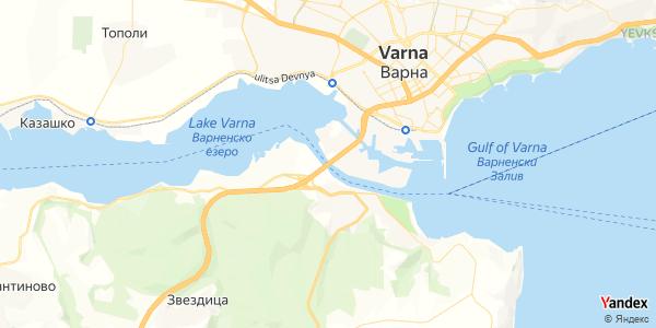 Yandex Map of 27.8851585,43.1904088