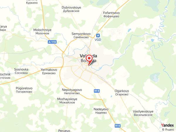 Server map