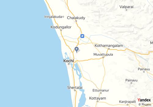 Map Location of Novasoft India