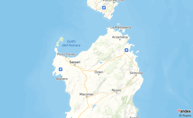 Yandex Map of 8.96,40.8