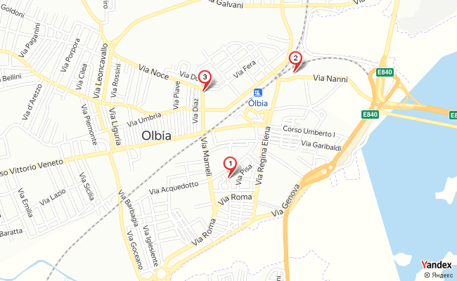 Yandex Map of 9.4980114,40.9232479