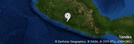 Yandex Map of 1.384 miles of Cerro Seis Ocotes