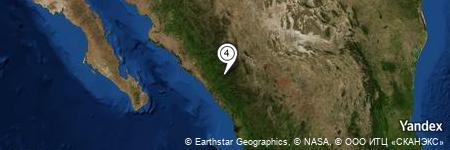 Yandex Map of 1.470 miles of Arroyo Buenavista