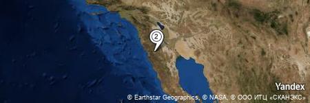 Yandex Map of 1.938 miles of Puerta Trampa