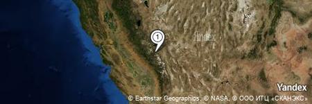 Yandex Map of 0.550 miles of Sherwin Creek