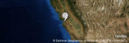 Yandex Map of 1.215 miles of Tract of Land Near San Juan Bautista