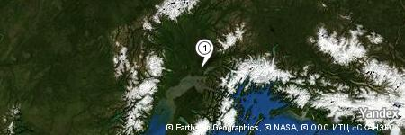 Yandex Map of 0.221 miles of Loonsong Lake