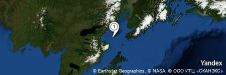 Yandex Map of 6.140 miles of Cook Inlet