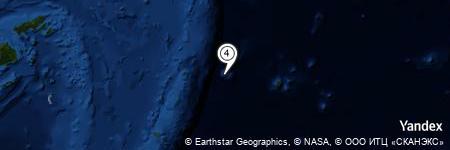 Yandex Map of 9.298 miles of Capricorn Tablemount