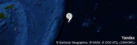 Yandex Map of 13.604 miles of Capricorn Tablemount