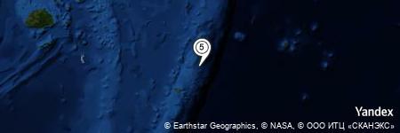 Yandex Map of 23.826 miles of Poseidon's Gate