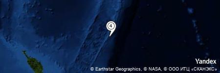 Yandex Map of 136.802 miles of L'Esperance Rock