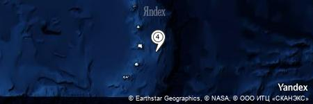 Yandex Map of 35.830 miles of Mathias Point