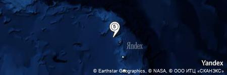 Yandex Map of 10.140 miles of Wordie Point