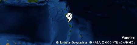 Yandex Map of 5.022 miles of Martinique Passage