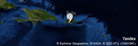 Yandex Map of 0.614 miles of Roca Ahogado