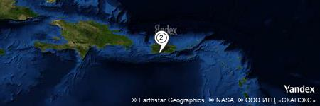 Yandex Map of 2.348 miles of Bahia de Ponce Lighted Buoy 4