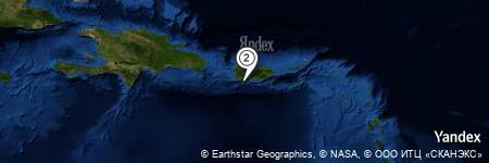 Yandex Map of 7.258 miles of Arrecife Guayanilla