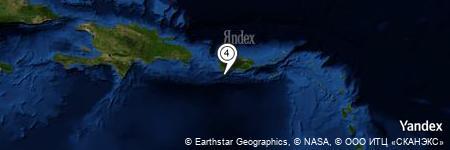 Yandex Map of 8.338 miles of Bahía de Guánica