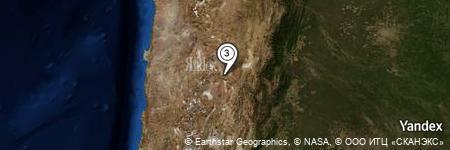 Yandex Map of 2.183 miles of Sierra Guayaos