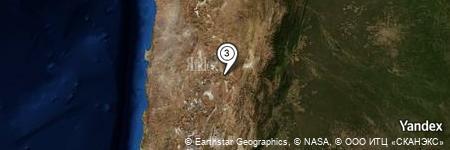 Yandex Map of 3.372 miles of Sierra Guayaos