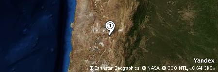 Yandex Map of 0.562 miles of Cerro Tultul