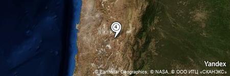 Yandex Map of 2.745 miles of Vega Chau