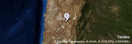 Yandex Map of 4.144 miles of Vega Chau