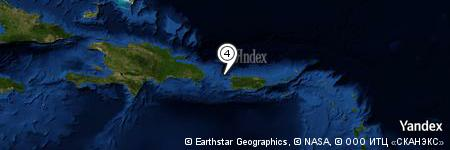 Yandex Map of 11.450 miles of Isla Desecheo