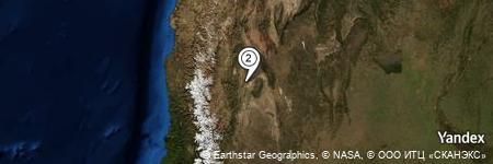 Yandex Map of 4.151 miles of Mogote La Torre