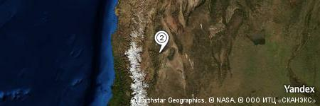Yandex Map of 1.998 miles of Niquivil Nuevo