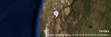 Yandex Map of 1.674 miles of Cerro Pelado