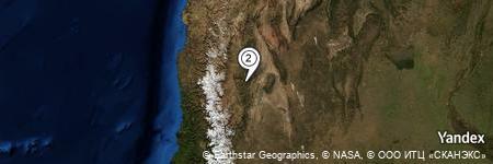 Yandex Map of 2.106 miles of Mogote Cuesta Nueva