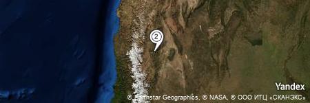Yandex Map of 2.795 miles of Mogote Pedrazal