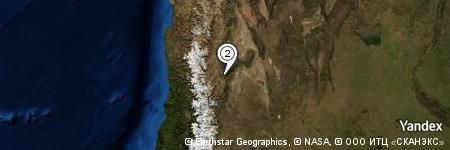 Yandex Map of 0.914 miles of Loma del Medio