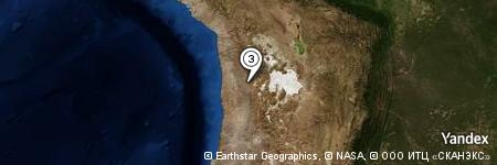 Yandex Map of 2.136 miles of Aguada de Milagro