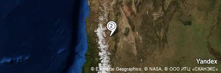 Yandex Map of 5.545 miles of Estancia Leoncito