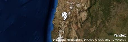 Yandex Map of 1.981 miles of Quebrada Las Pisacas