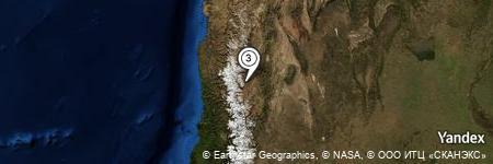Yandex Map of 1.192 miles of Potrerito