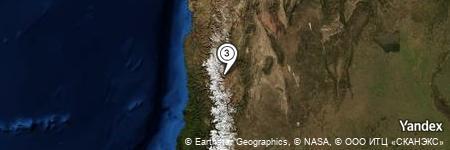 Yandex Map of 5.800 miles of Paso de la Fortuna