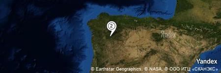 Yandex Map of 0.496 miles of Pradocabalos