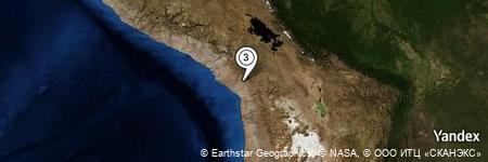 Yandex Map of 0.464 miles of Cerro Chero