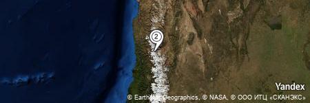 Yandex Map of 1.629 miles of Portillo de Cobre