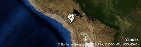 Yandex Map of 0.638 miles of Loma Jacutiri