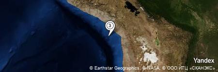 Yandex Map of 39.768 miles of Punta Picata