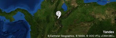 Yandex Map of 0.253 miles of El Batatal
