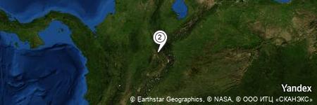 Yandex Map of 1.869 miles of Alto de El Término